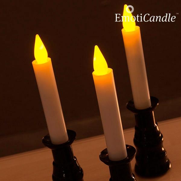 velas led romantic ambiance emoticandle pack de 3 you like it. Black Bedroom Furniture Sets. Home Design Ideas