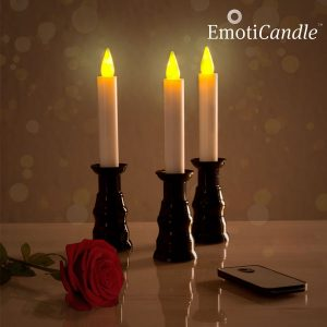 Velas LED Romantic Ambiance EmotiCandle | Pack de 3
