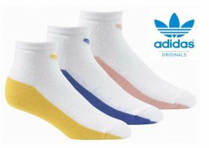 Adidas® Meias Unissexo Pack 3 Pares