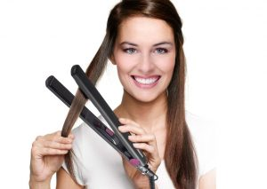TriStar® Hair Straightener | Plates With Ceramic Coating