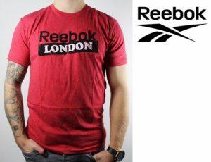 Reebok® T-Shirt Delta CF London Vermelho