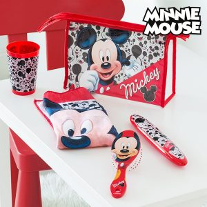 Mickey | Nécessaire Com 4 Peças | Produto Licenciado