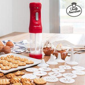 Máquina Para Fazer Biscoitos Com Acessórios