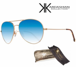 KIM KARDASHIAN® Óculos Sol Edição Especial Blue Mirror Aviator