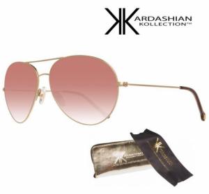 KIM KARDASHIAN® Óculos Sol Edição Especial Pink Mirror Aviator