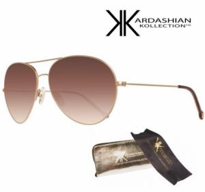 KIM KARDASHIAN® Óculos Sol Edição Especial Brown Graduated Aviator