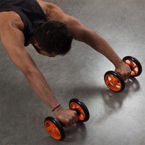 2 Rodas de Exercícios Fitness