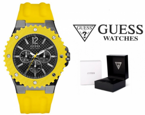 Relógio Guess® Overdrive Yellow