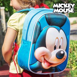 Mickey | Mochila Escolar 3D | Produto Licenciado