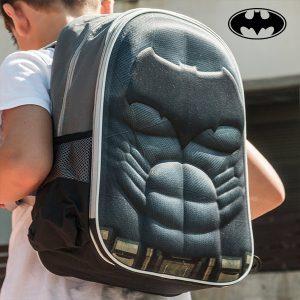 Batman | Mochila Escolar 3D | Produto Licenciado