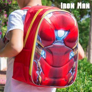 Homem de Ferro | Mochila Escolar 3D | Produto Licenciado