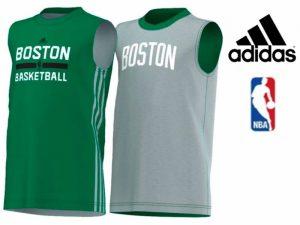Adidas® Cabeada Reversível NBA Boston Júnior