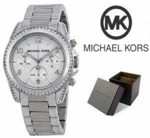 Relógio Michael Kors® Ladies White Crystal | Cronógrafo | 10ATM