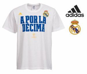 Adidas® T-Shirt Oficial Real Madrid | A Porla La Décima