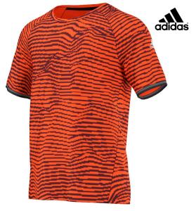 Adidas® T-Shirt De Treino Laranja | Padrão Refletor