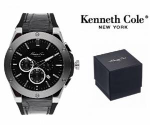 Relógio Kenneth Cole® New York Dress Sport Com Cronógrafo | 3ATM