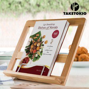 TakeTokio | Atril de Cozinha em Bambú