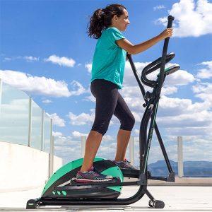 Bicicleta Elíptica com Inércia de 6kg | 8 Níveis de Resistência