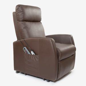 Poltrona de Repouso Com Elevação | 5 Modos Massagem | 8 Motores | Função Calor | Comando Luminoso | Compact 6008