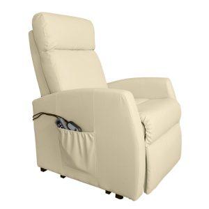 Poltrona de Repouso Com Elevação | 5 Modos Massagem | 8 Motores | Função Calor | Comando Luminoso | Compact  6007