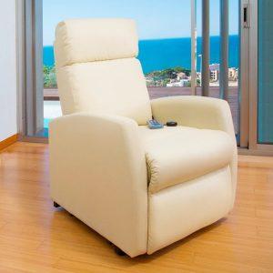 Poltrona de Repouso 5 Modos Massagem | 8 Motores | Função de Calor | Com Comando Luminoso | Compact 6024