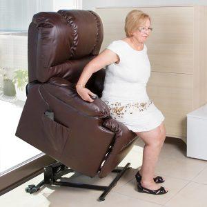 Poltrona de Repouso Com Elevação | 10 Modos Massagem | 8 Motores | Função Calor | Comando Luminoso | Compact 6014