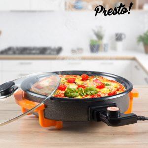 Sertã Eléctrica Multiusos 40cm | Frita | Grelha | Churrasca | Pizzas | Omeletes !