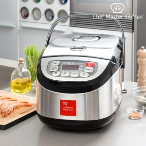 Robot de Cozinha Inox Cook Chef Master Kitchen | 12 Programas !
