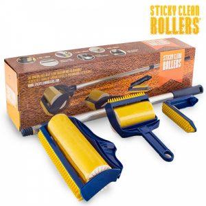 Rolos de Limpeza Sticky Clean | 3 Peças