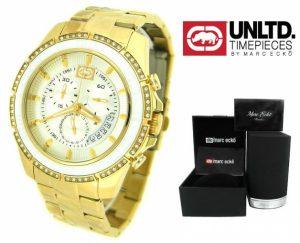 Relógio Marc Ecko® | Cronógrafo | 3ATM