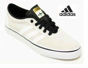 Adidas® Sapatilhas Adi-Ease 2 | Bege Com Listas Brancas