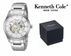 Relógio Kenneth Cole® New York Prateado | Automático | Bracelete Metálica