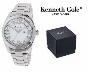 Relógio Kenneth Cole® New York Dress Sport Prateado | 3ATM
