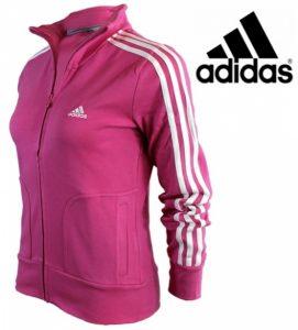 Adidas® Casaco Performance Essentials Training Rosa Escuro