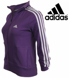 Adidas® Casaco Performance Essentials Training Roxo