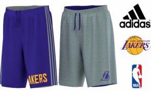 Adidas® Calções Reversíveis Basketball Los Angeles Lakers