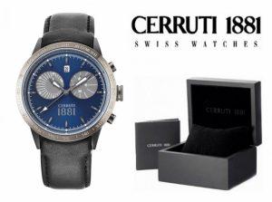 Relógio Cerruti 1881®  Udine Cronógrafo Azul | 10 ATM