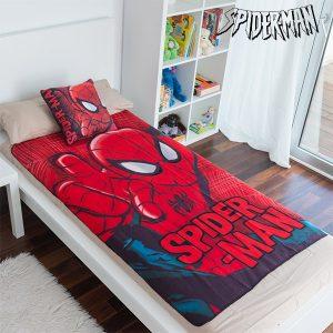 Conjunto de Manta e Almofada Spiderman!
