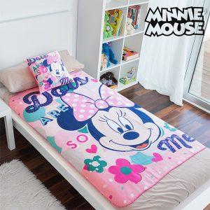 Conjunto de Manta e Almofada Minnie !