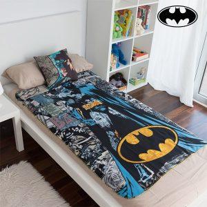 Conjunto de Manta e Almofada Batman!