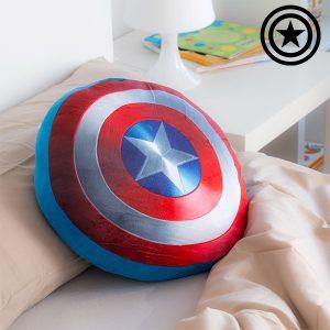 Almofada Criança Capitão América | Suave Tato Aveludado !