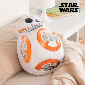 Almofada Criança BB-8 da Star Wars | Suave Tato Aveludado !