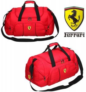 Ferrari® Oficial Licenciado | Saco Desporto | Fim Semana | Viagem -  Vermelho