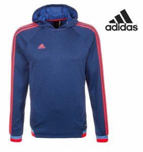 Adidas® Camisola Azul Marinho Com Listas | ClimaWarm
