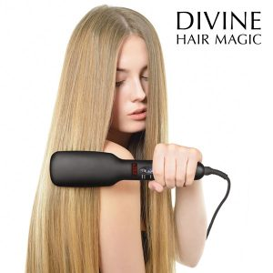 Escova Alisadora Elétrica Londict Divine Hair Magic