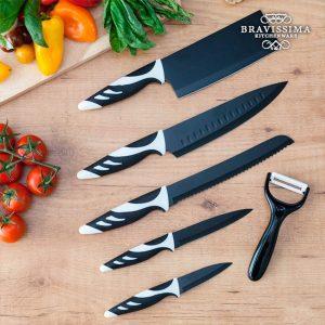 Facas Top Chef Black C01024 (6 peças)