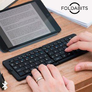 Teclado Bluetooth Dobrável Foldabits