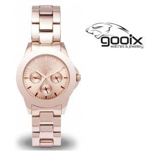 Relógio Gooix® Adissa Classic Dourado Rosa | 5ATM