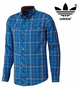 Adidas® Camisa Skateboarding Silas Plaid