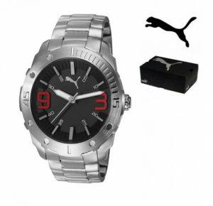 Puma® Echo Bracelete Em Aço inoxidável | 5ATM